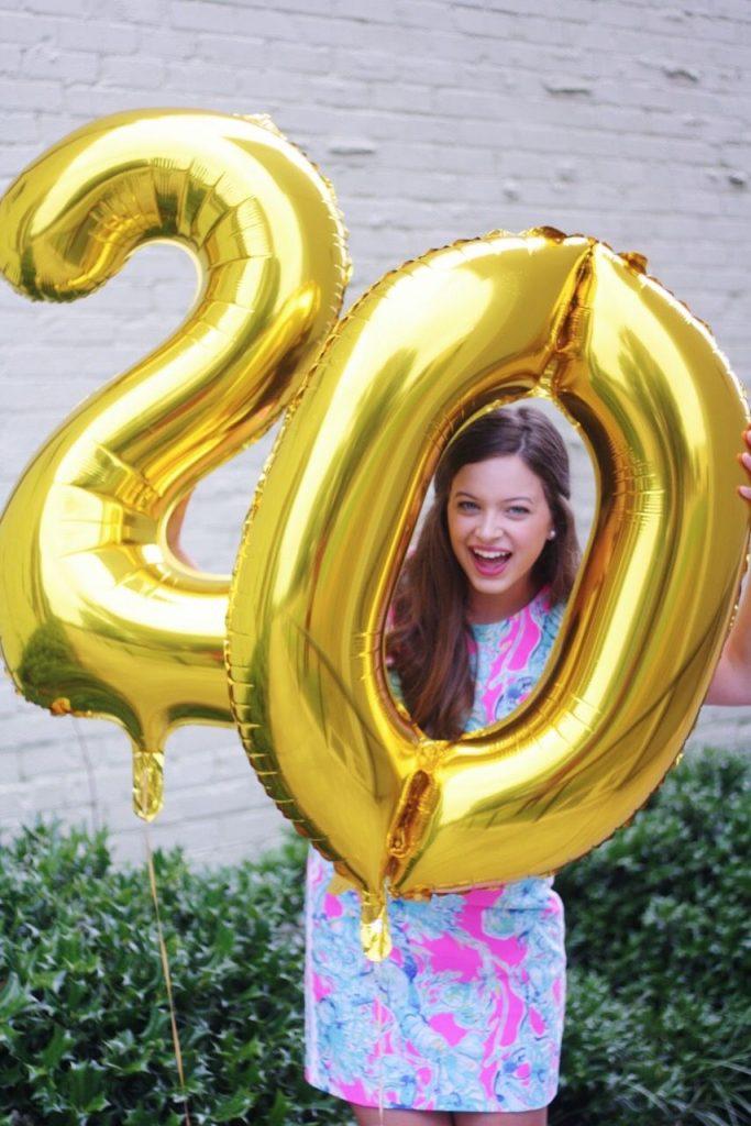 Поздравления с юбилеем 20 лет девушке