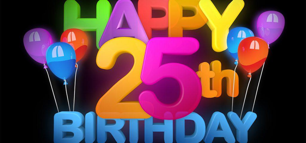 Прикольные поздравления с юбилеем 25 лет