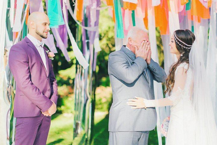 Поздравления на свадьбу от родителей невесты