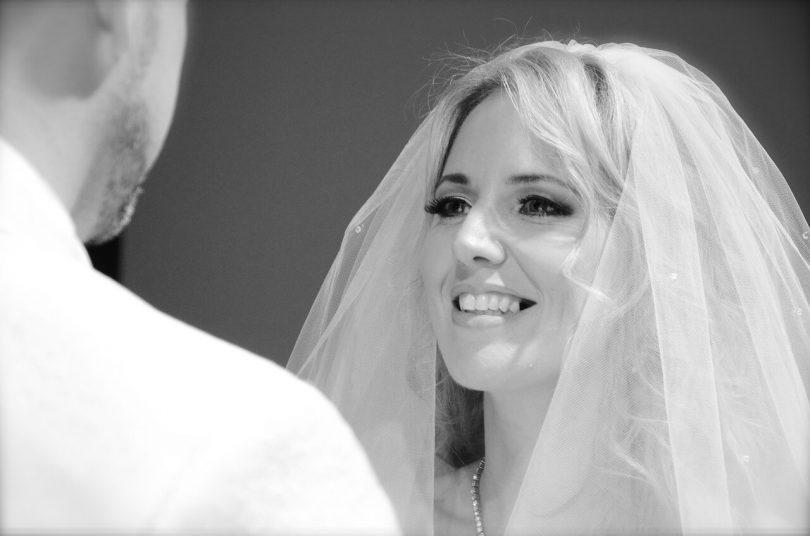 Красивое фото невесты на свадьбе