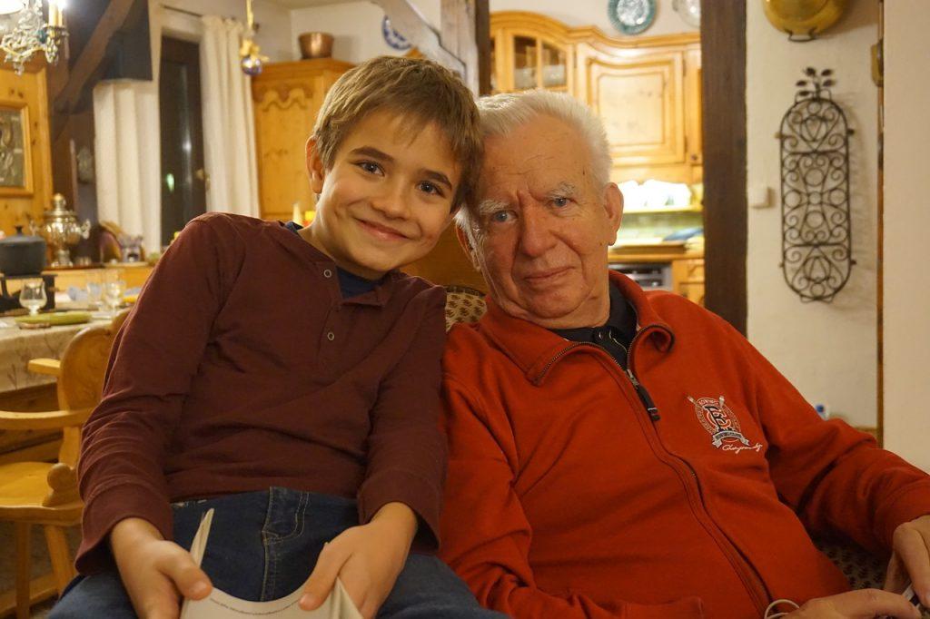 Поздравление с днем рождения дедушке от внука