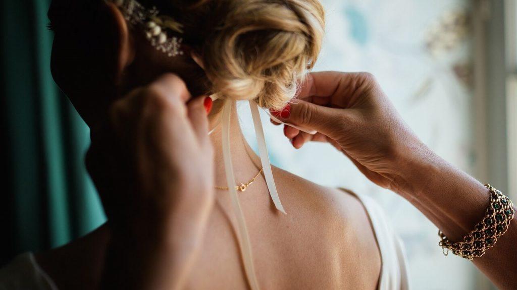 Приготовления невесты к свадьбе
