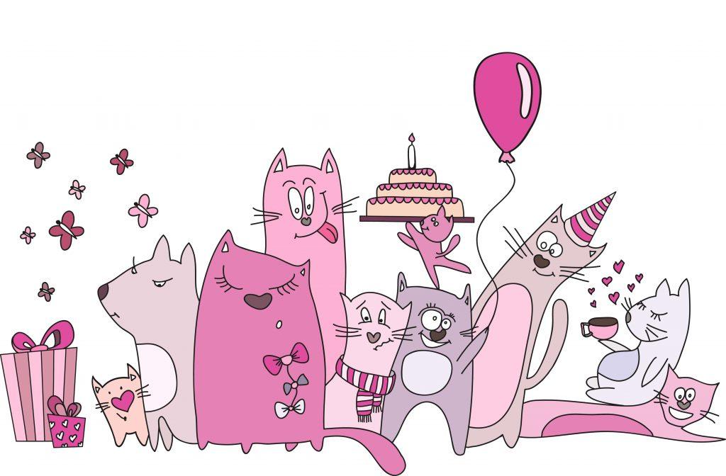Креативная картинка с днем рождения