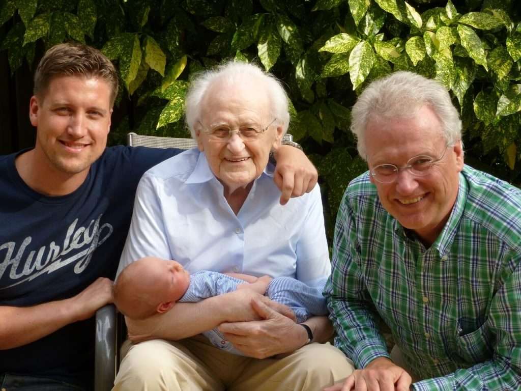 Дедушка, Папа и Внук