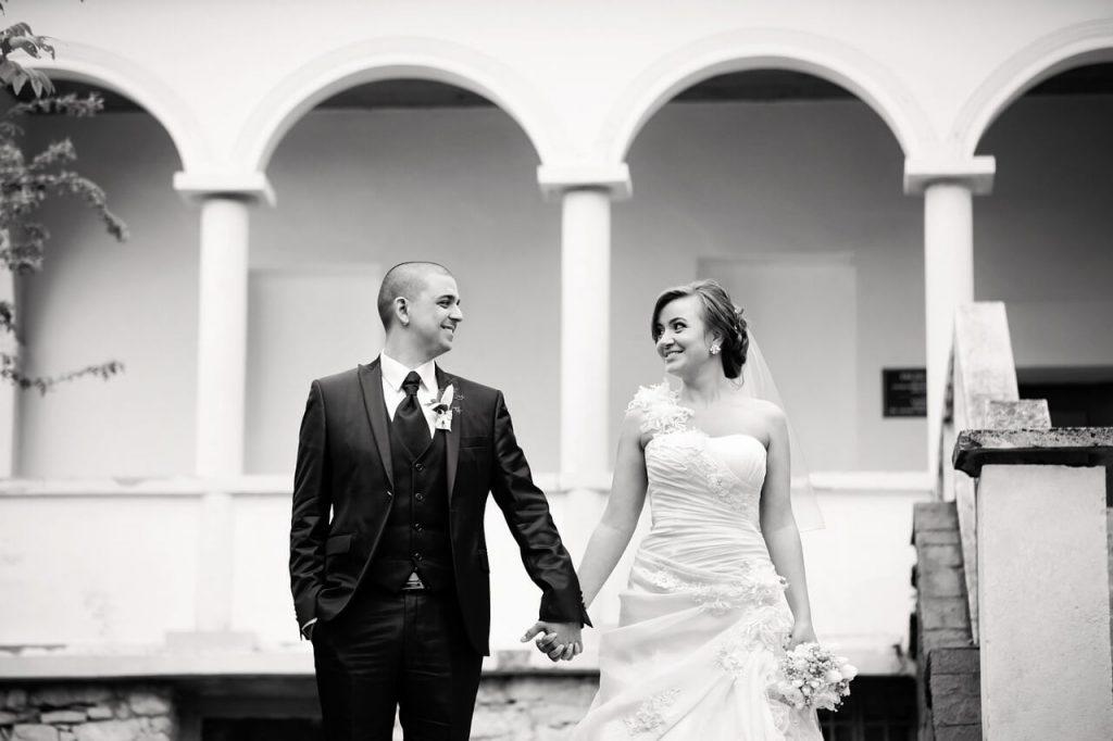 Новобрачные - муж и жена