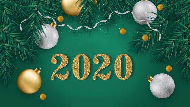 обои новый год 2020 год мыши