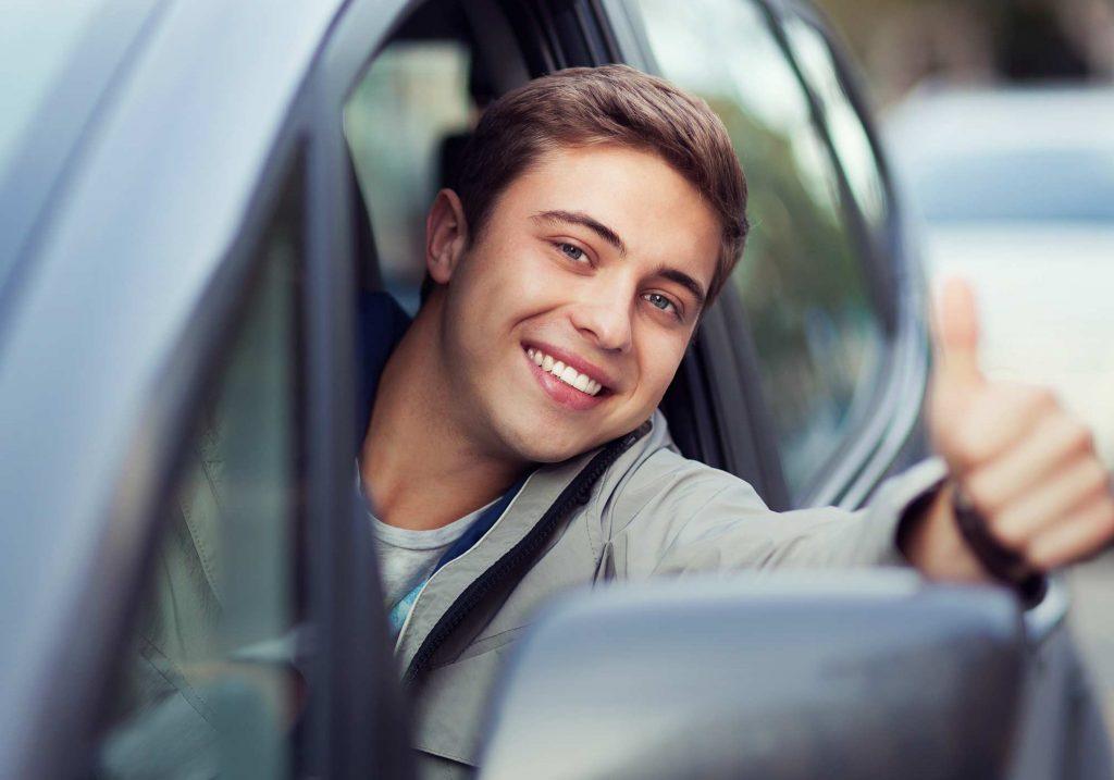 Счастливый водитель