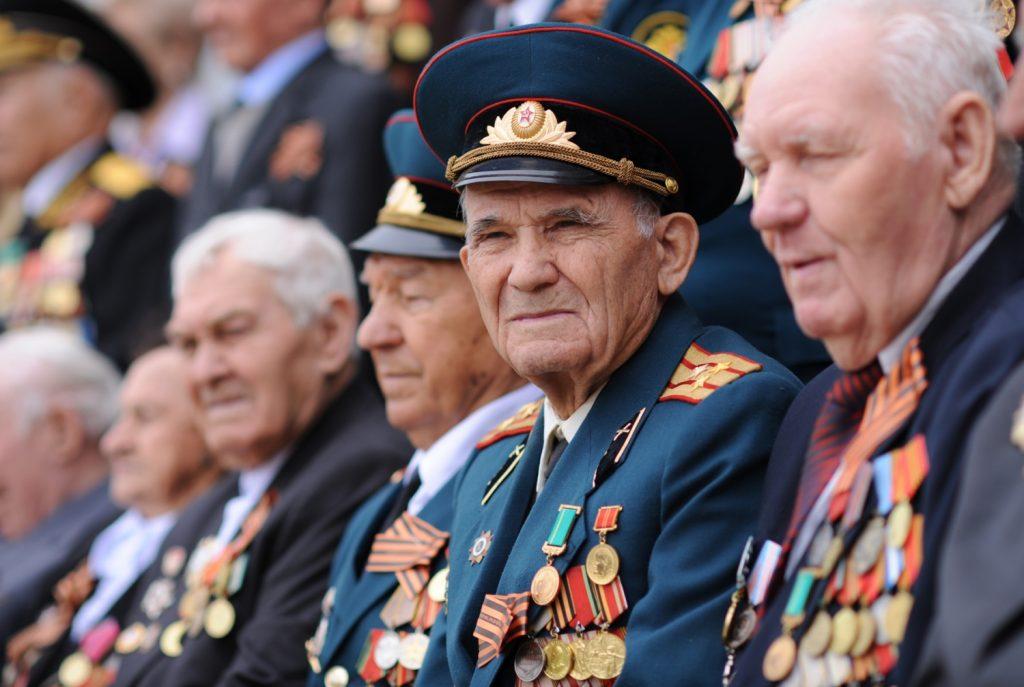 Ветераны Дня Победы