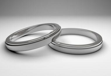 Два серебрянных кольца